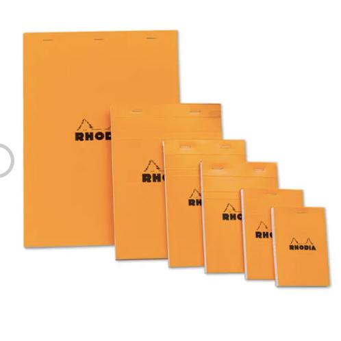 Orange Rhodia Notebooks