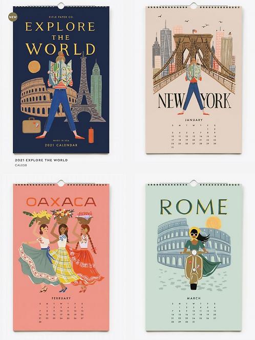 Rifle Paper Co. | 2021 Explore the World Calendar