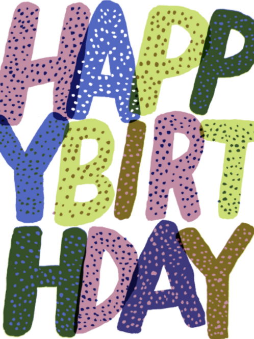 Birthday Type