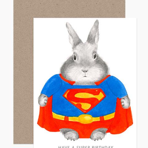 Super Bunny Birthday