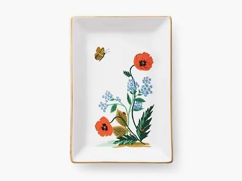 Rifle Paper Co. | Poppy Botanical Catchall