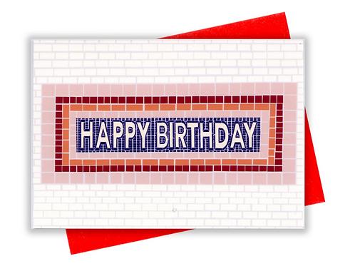Happy Birthday Subway
