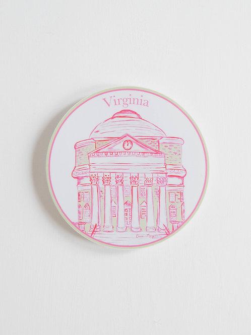 UVA Rotunda Sticker