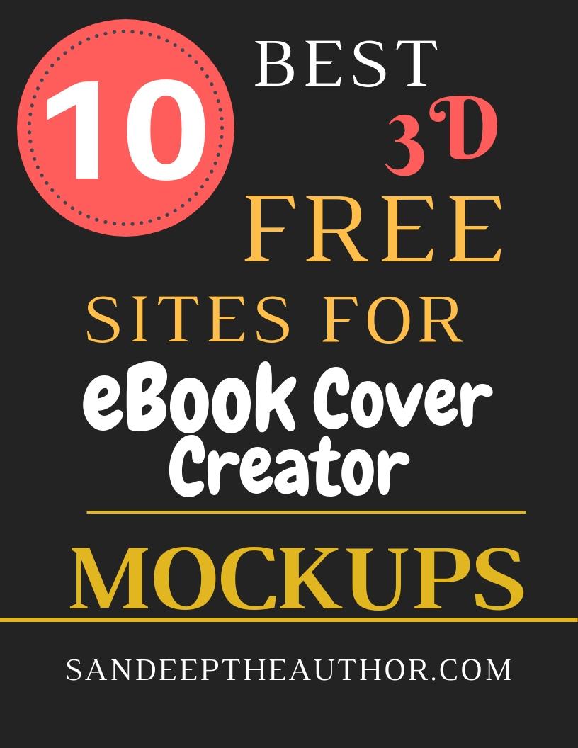 10 Best Free 3D eBook cover mockups sites