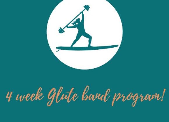 4 week Glute Band Program
