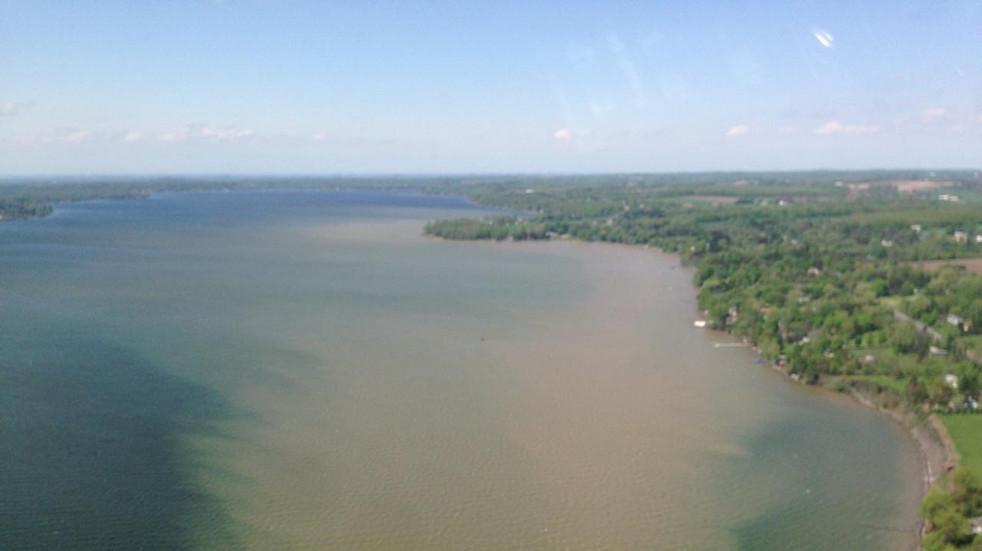 Owasco Lake Sediment Plume