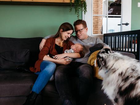 Newborn Fotoshoot Senn - 4 weken Kampen, IJsselmuiden