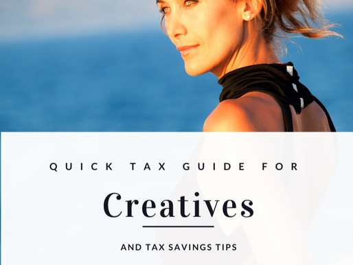 Quick Tax Guide For Creatives