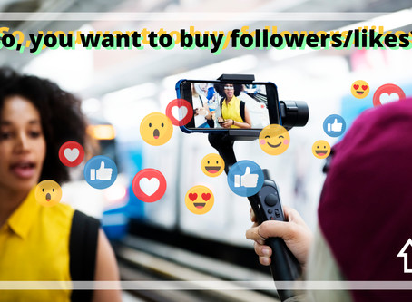 Thinking Of Buying Followers Or Likes?