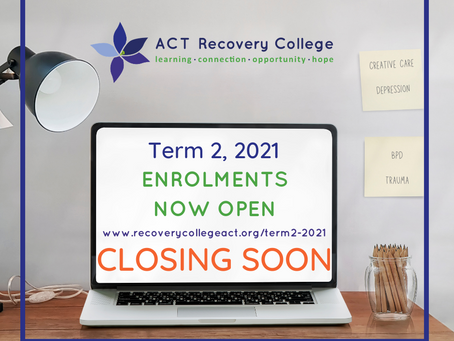 Term 2, Expression of Interest Closing Soon!