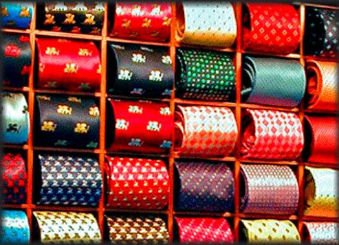 Corbatas Finas de Vestir