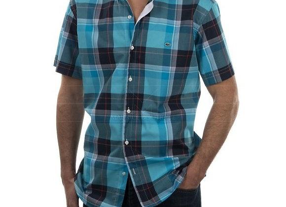 Camisa a Cuadros Manga Corta