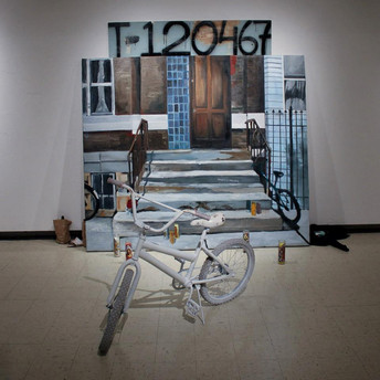 A teenage love that haven't felt no hurt yet, 2012 8'x8'x6' Mix media installation