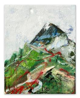 """Foimal, 2017 Acrylic, India ink, laytex, oil and spray paint on canvas  15""""x12"""""""