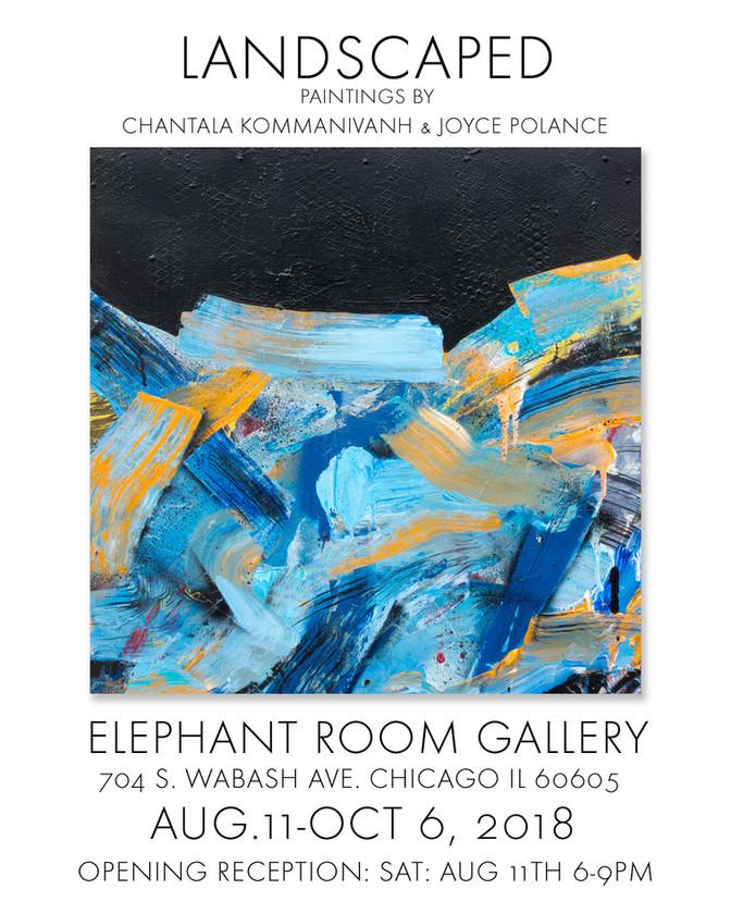 Landscaped Paintings by Chantala Kommanivanh & Joyce Polance