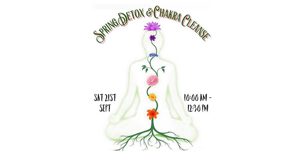 Spring Detox & Chakra Cleanse Workshop