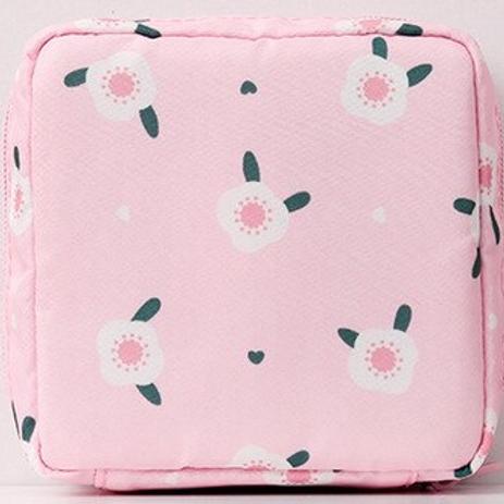 Lotus Pink Reusable Mask Bag