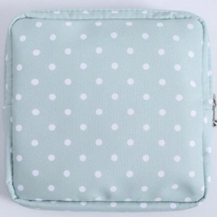 Dottie Aqua Reusable Mask Bag