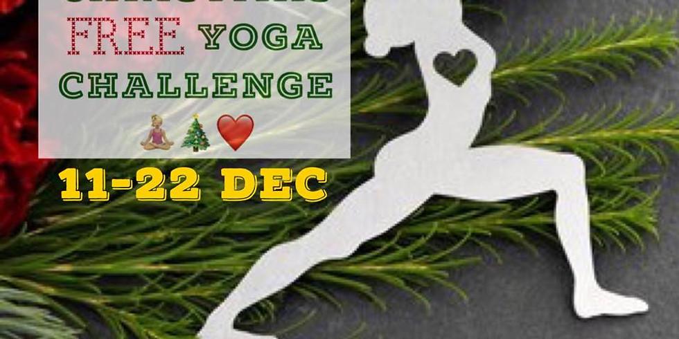 12 Days of Christmas Yoga Challenge