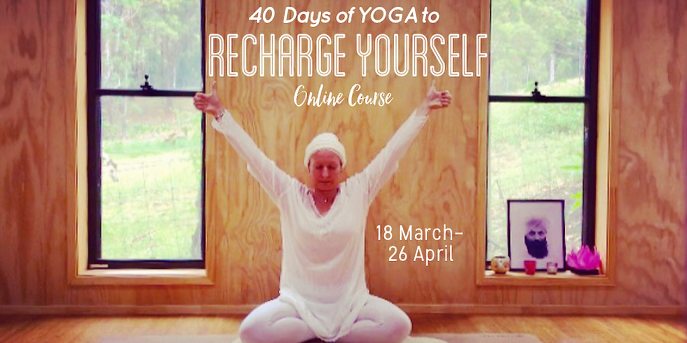 40 Days of Yoga to Recharge Yourself