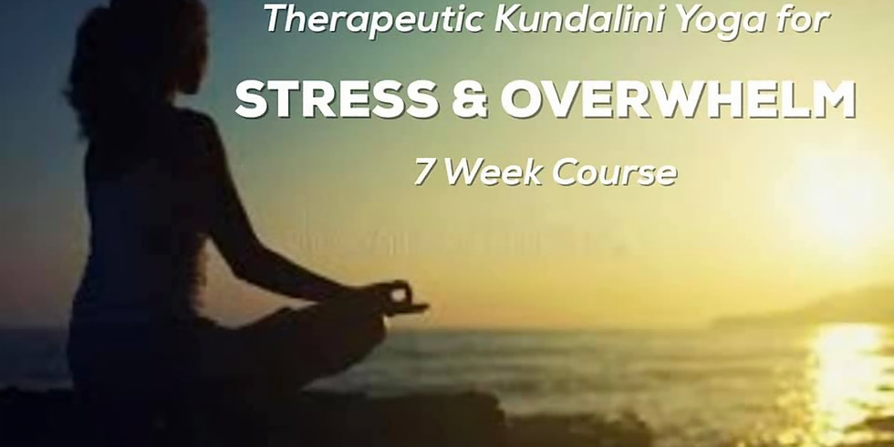 7pm Therapeutic Yoga for Stress & Overwhelm