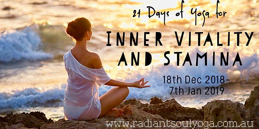 21 Days of Yoga for Inner Vitality and Stamina