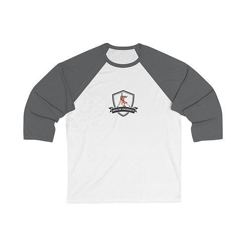 Unisex 3/4 Sleeve Baseball Tee