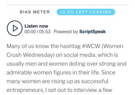 Scriberr News Article- Women Entrepreneurs