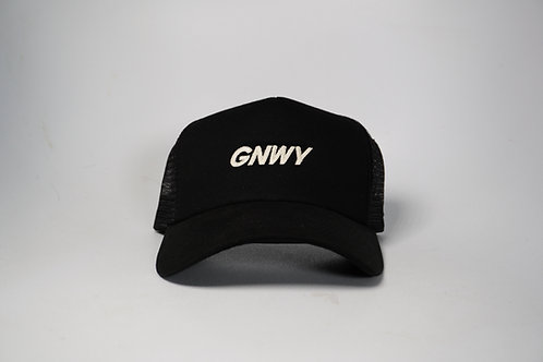 GNWY Black Trucker Hat