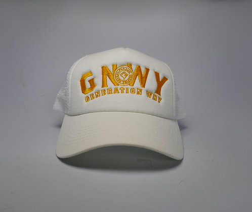 GNWY White Captain Hat