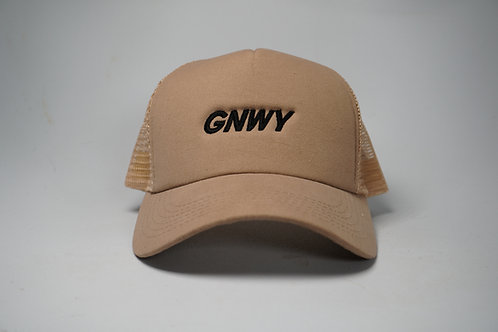 GNWY Khaki Trucker Hat