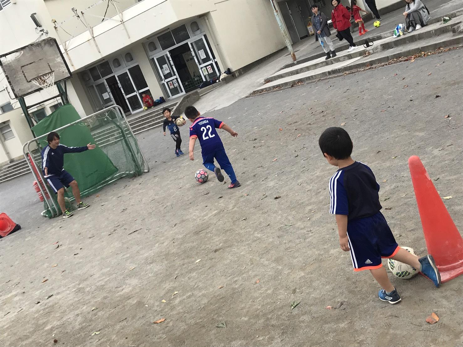 ちびっ子サッカー①