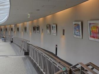 「ホテル近鉄アクアヴィラ伊勢志摩」にて展示が始まりました