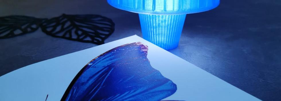Toupie reverso mystic bleu