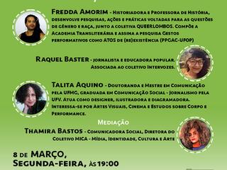 Um encontro com mulheres: liberdade de expressão e internet.