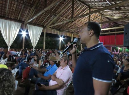 Mariana sediou nova reunião pública com os atingidos de Bento Rodrigues.