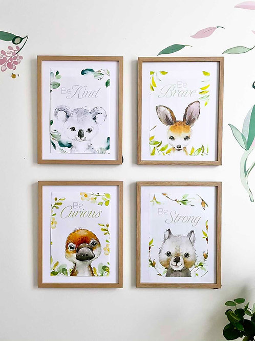 The Baby Australian Animal Prints