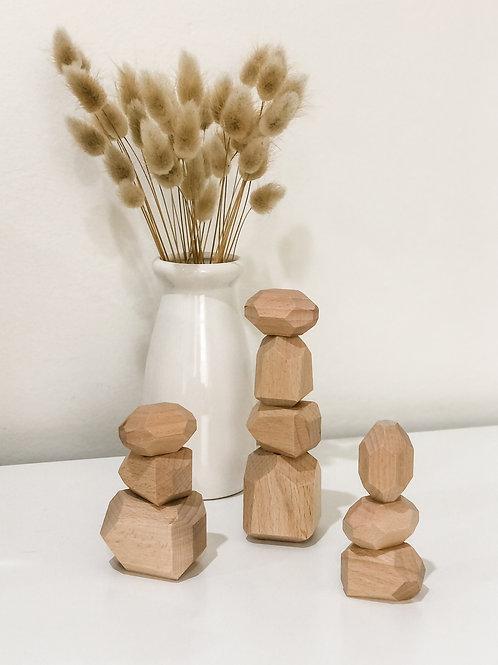 The Wooden Balance Blocks