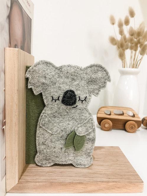 The Sleepy Koala Bookends