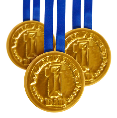 World's Best Dad Chocolate Medal (x20)