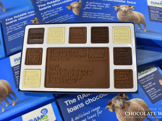 How can chocolate help promote my business?