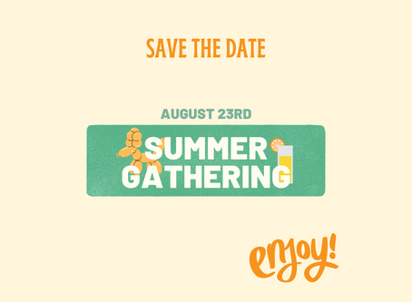 Summer Gathering & Kid's Club - August 23rd