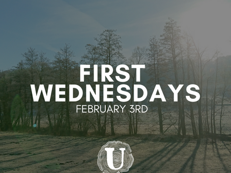 First Wednesdays on February 3rd