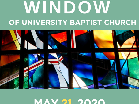 The Window: May 21, 2020