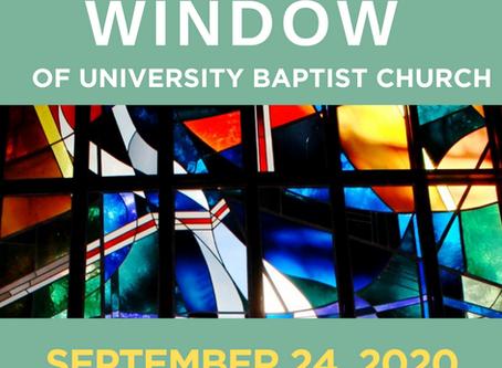 The Window: September 24, 2020