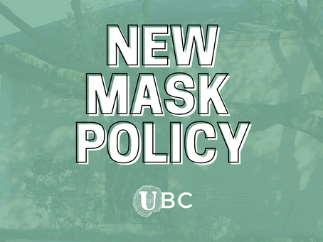 New Mask Policy, May 19