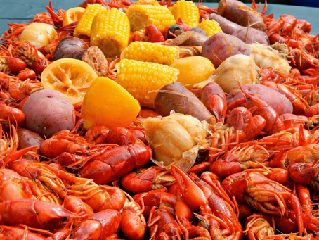 Crawfish Boil Gathering on March 24
