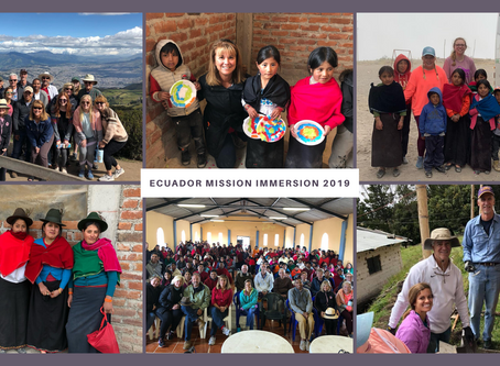 Supporting the Work in Ecuador