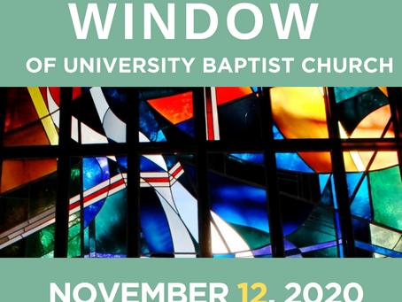 The Window: November 12, 2020