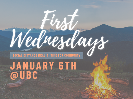 First Wednesdays on January 6th